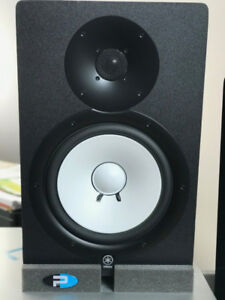 Yamaha HS80M Studio Speaker + Komplete A6 Interface + All cables