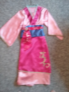 Halloween/dress up Mulan dress from Disney store.