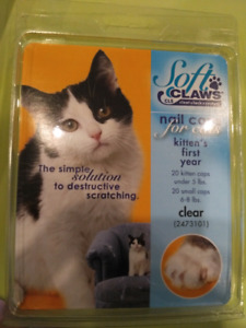 Soft claw nail clips for kittens