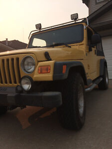2004 Jeep TJ Unlimited SUV, Crossover