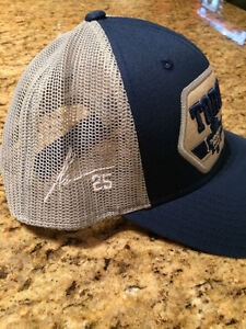 James Van Riemsdyk Leafs Snapback Hat with Embroidered Auto CCM Kingston Kingston Area image 2