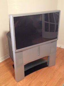 "**FREE!!**  Sony 46"" Rear Projection TV & matching Stand"