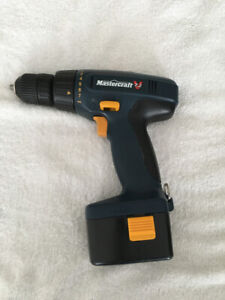 Mastercraft 7.2V Cordless Drill without the battery or charger