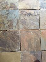 Harvest Gold Slate Tile