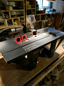 Portable Router Table
