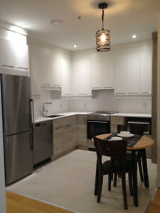 Furnished 3 1/2 with balcony + parking - Downtown Montreal