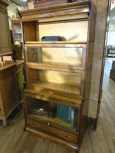 Antique Barrister's Bookcase at The Old Attic