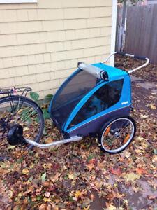 Thule Coaster double bike trailer/stroller