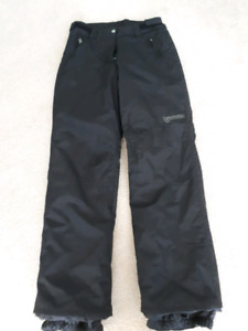 Ladies / Youth Black Gravity Ski Pants
