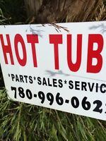 Hot tub and pool service   Sale and Service