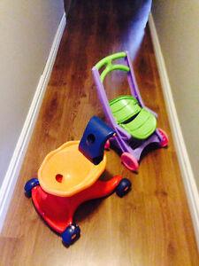 Doll stroller/walker