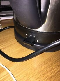 Stainless steel cordless kettle by Sainsbury's for sale