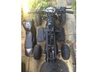 Mini moto Quad. Runs. Spare repair
