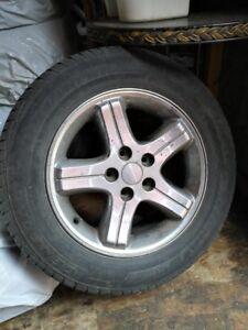 4 pneus et mags 225 60 r16