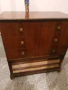 Antique Radio/ Record Cabinet