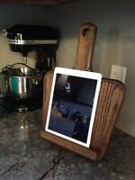 I Pad and cook book stands