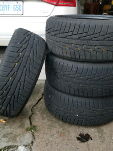 225/ 40 R18. Hercules winter tires . From benz c350