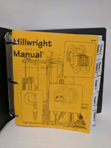 Complete Millwright Manual with Study guide