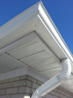 """5""""- 6"""" Seamless Eavestroughs/Gutters Call Now 9057821674"""