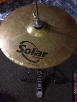 Solar By Sabian Hi Hats and Stand