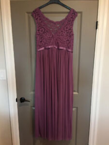 Wisteria Bridesmaid Dress from Davids Bridal Lace top