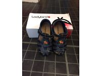 Boys ladybird sandals/shoes. Size 8 toddler