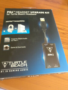 Turtle Beach PS4 Upgrade Kit - $30 (Vancover/North Shore)