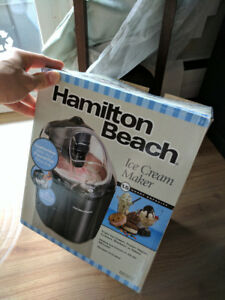 HAMILTON Ice Cream Maker - MUST GO SUNDAY.