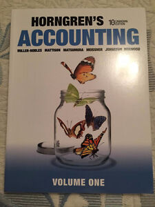 Horngrens Accounting Textbook 10th edition