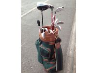 Golf clubs Ping driver and woods and bag ideal for beginners
