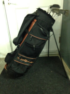 Sac de golf et fers