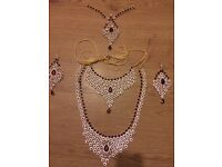 Asian bridal jewellery set
