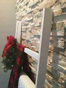 Holiday / Christmas Decor -- Rustic Blanket Ladder London Ontario image 4