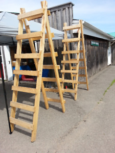 Staging ladders
