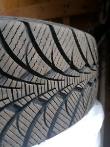 Gently Used Goodyear Ultra Grip Ice 195/65R15 Rims included