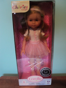 "Corelle Doll Les Cheries, 14"" , New in Box"