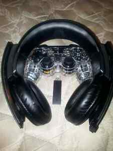 Playstastion controller & headset