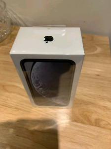 iPhone XR Brand New Sealed in Box-1 Year Warranty