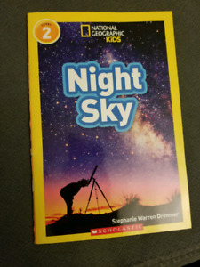 National Geographic Kids - Night Sky (level 2 reader)