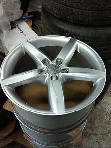 """18"""" Audi A4 alloy rims 5 x 112 - $600 set of 4"""