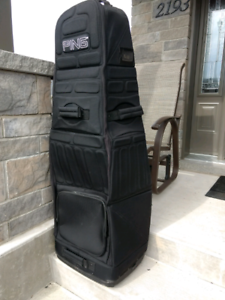 PING golf bag carrier..