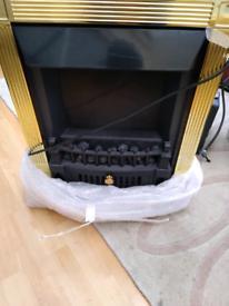 Electric coal effect heater