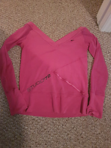 Pink Nike Dance Top size small