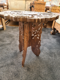 Indian wood table