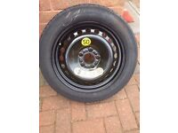 Spare wheel and tyre for ford cars