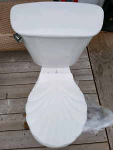 COMPLETE CRANE TOILET IN EXCELLENT CONDITION