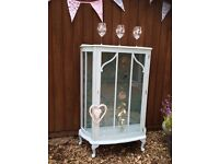 Upcycled Glass Cabinet