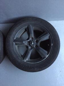 "2015 mustang stock wheels 17"""