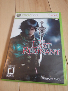 XBOX 360 The Last Remnant Video Game Complete