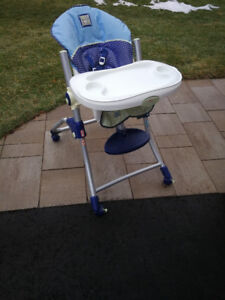 Quality baby highchair from original owner, clean, like new.